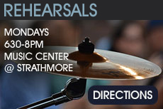 The interPLAY Orchestra Rehearsals: Mondays 6:30PM to 8PM at The Music Center at Strathmore